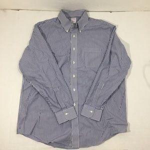 Men's Brooks Brothers Striped Dress Shirt 17-35